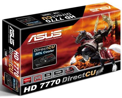 Asus HD 7770 DirectCu 0