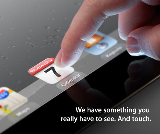 Invitación iPad 3 0