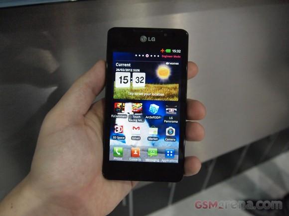 LG Optimus 3D Max 2 4