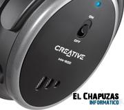 Creative lanza los auriculares HN-900 y Aurvana X-Fi 2