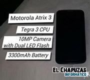 Filtrado el Motorola Atrix 3: Procesador Quad Core y 2 GB de RAM