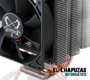 Scythe presentará el disipador CPU Katana 4 en el CeBIT 2012