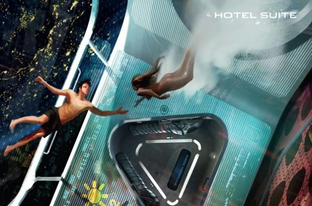 Playboy espacial 4 620x410 Playboy y Virgin Galactic quieren clubs de strepteases en el espacio