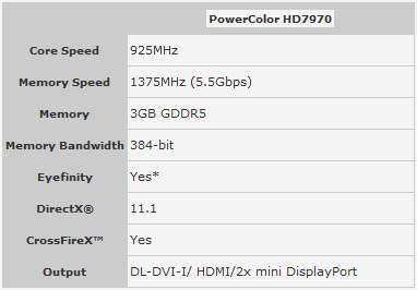 PowerColor HD 7970 3 2