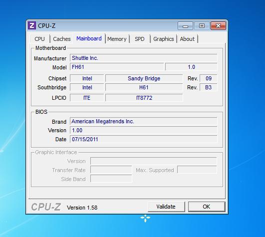 Shuttle SH61R4 CPU 1 24