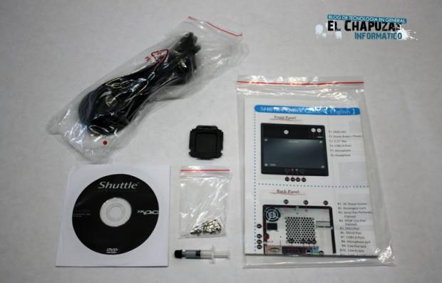 Shuttle SH61R4 Presentación y accesorios 4 620x397 4