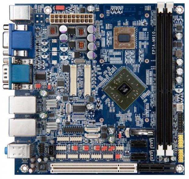 VIA EPIA M910 1 620x585 VIA anuncia placa base Mini ITX Dual Core VIA EPIA M910