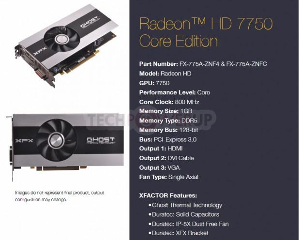XFX Radeon HD 7750 Core Edition 620x496 3