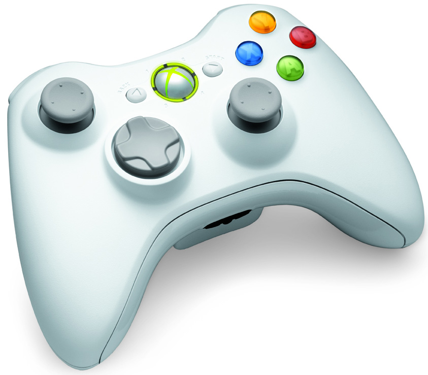 Xbox 360 y Kinect en color blanco (4)