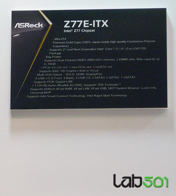 ASRock Z77E ITX 2 1