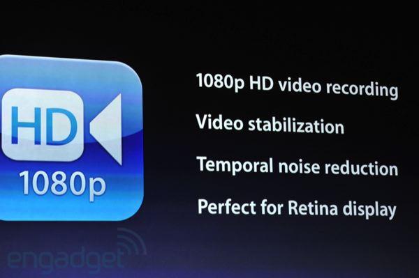 Cámara iPad HD 4 10