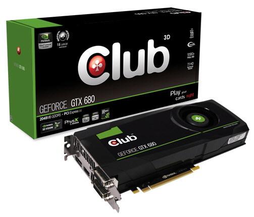 Club 3D GeForce GTX 680 0