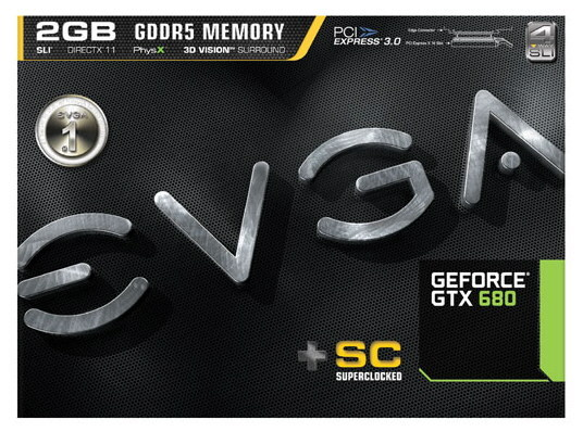 EVGA GeForce GTX 680 Superclocked 1 0