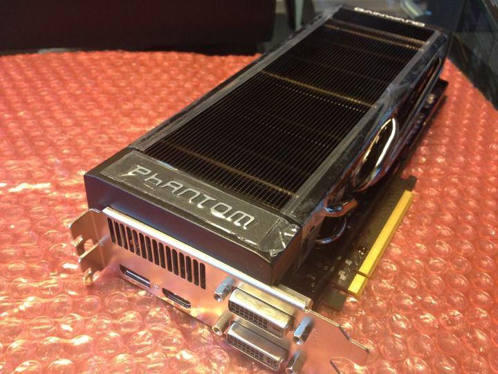Gainward GeForce GTX 680 Phantom en imagen