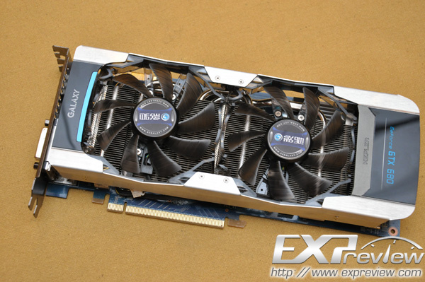 Galaxy GeForce GTX 680 4 GB en imágenes
