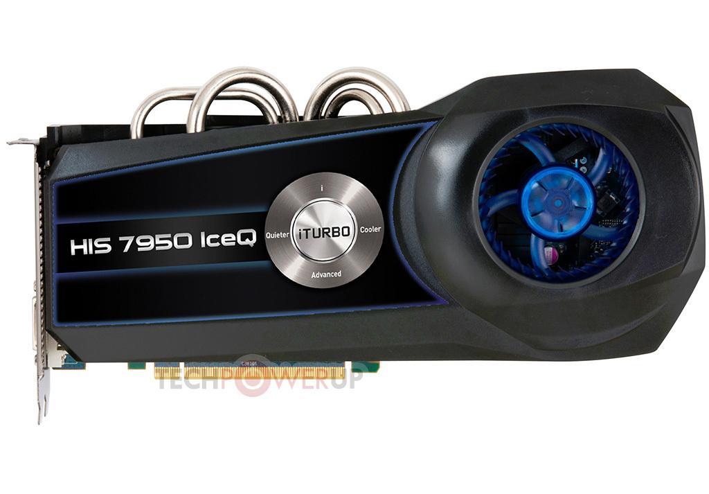 HIS lanza dos Radeon HD 7950 IceQ Series
