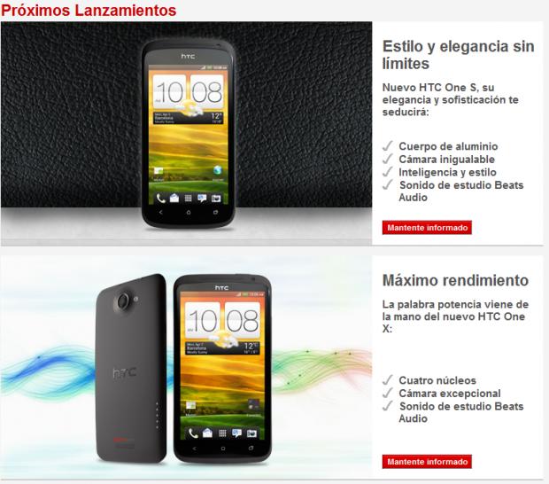 HTC One X y HTC One S Elchapuzasinformatico 620x546 0