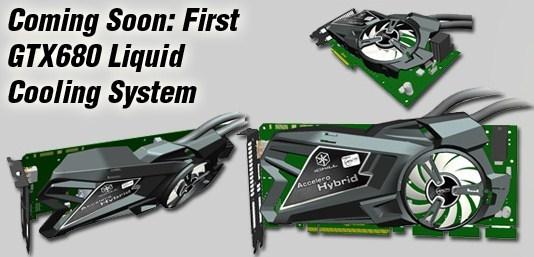 Inno3D GeForce GTX 680 Arctic Accelero Hybrid 0