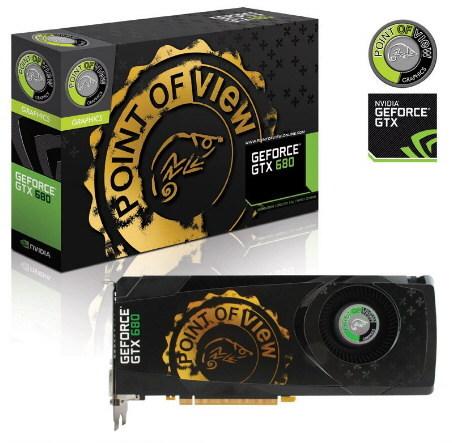 Point of View GeForce GTX 680 0