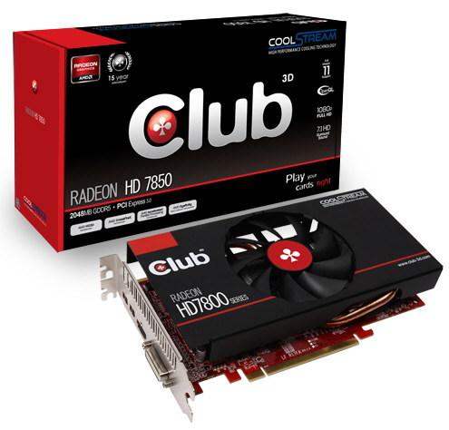 Radeon HD 7850 CoolStream Edition 1 0