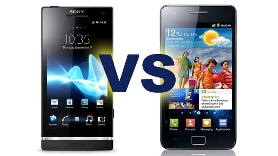 Sony Xperia S vs Samsung Galaxy S II 0