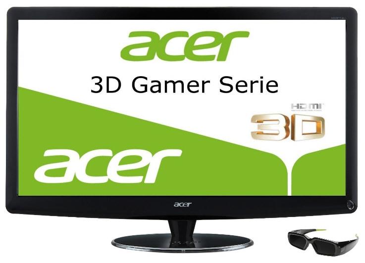 Acer lanza el monitor 3D de 27 pulgadas HN274HBbmiiid