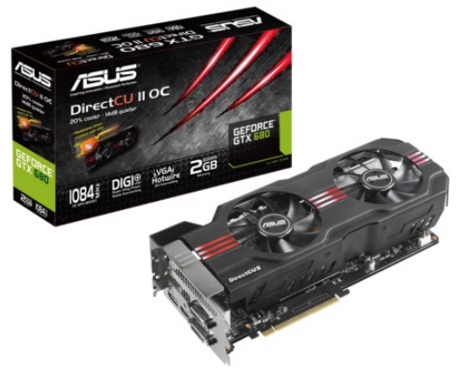 Asus GeForce GTX 680 DirectCU II TOP 1 0