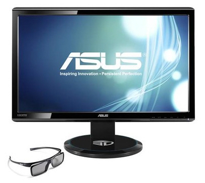 Asus presenta el monitor 3D IPS VG23AH