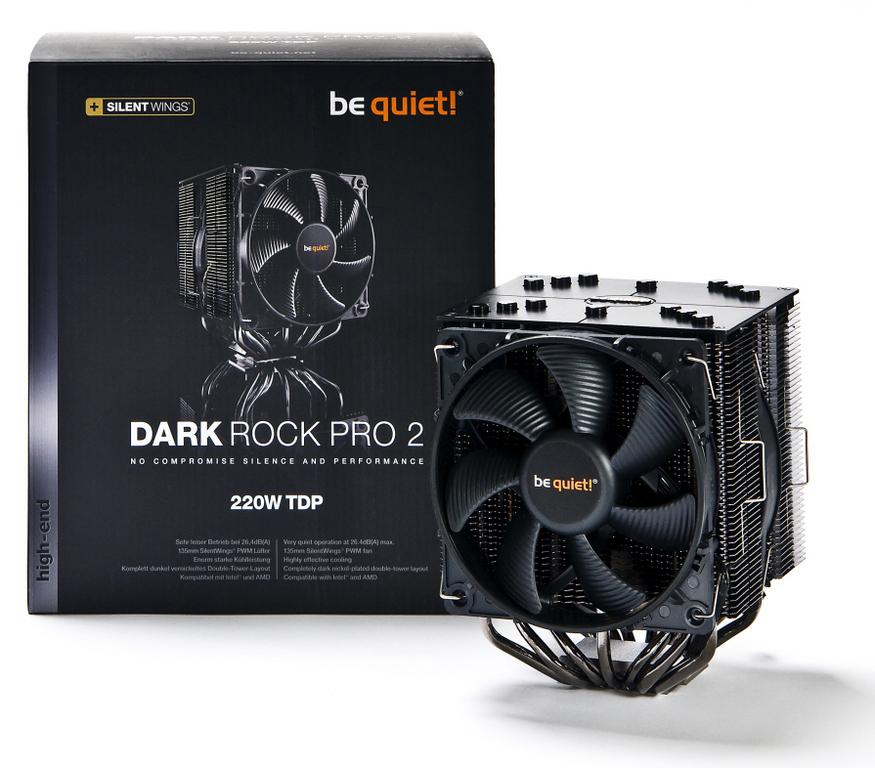 Be Quiet! lanza los nuevos disipadores CPU Dark Rock 2