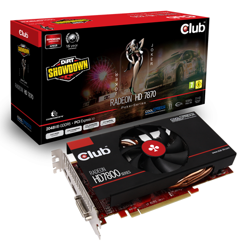 Club 3D Radeon HD 7870 JokerCard 1 0