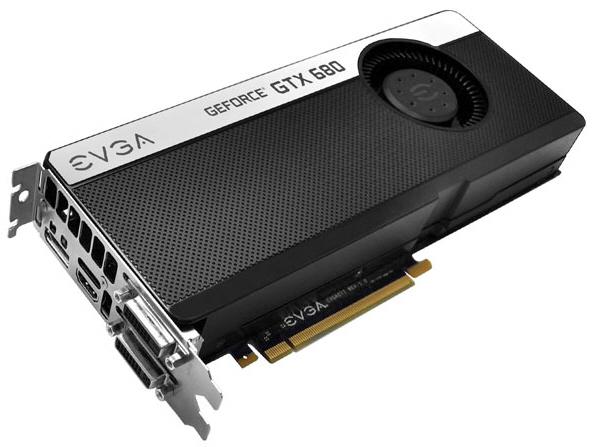 EVGA GeForce GTX 680 SC Signature+ 1 0