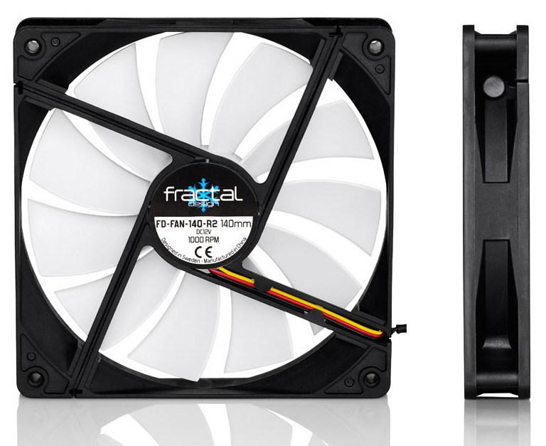 Fractal Design anuncia los ventiladores Silent Series R2