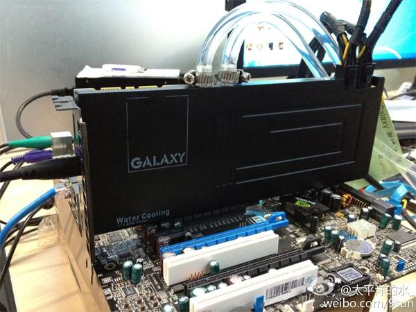 Galaxy GeForce GTX 680 Water Cooling 0