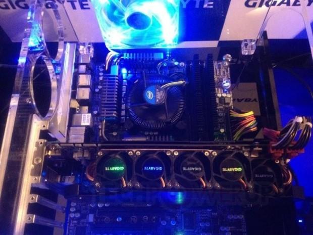 Gigabyte GTX 680 SOC con disipador WindForce 5X 2 620x465 1