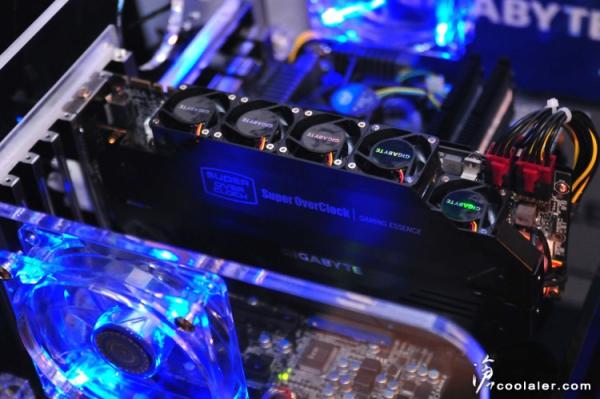 Gigabyte GTX 680 SuperOverClock 2 Gigabyte GeForce GTX 680 SuperOverclock WindForce 5X en nuevas imágenes