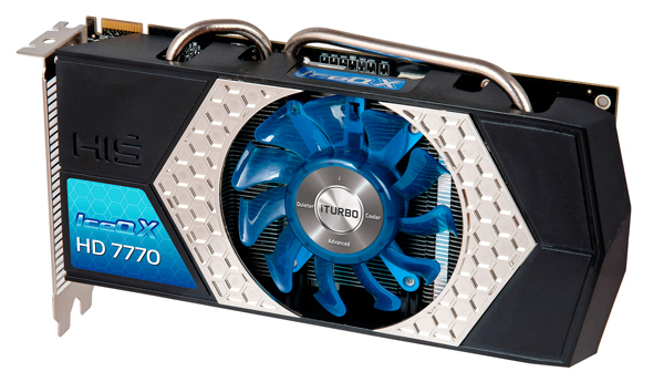 HIS Radeon HD 7770 IceQ X iTurbo X 1 1