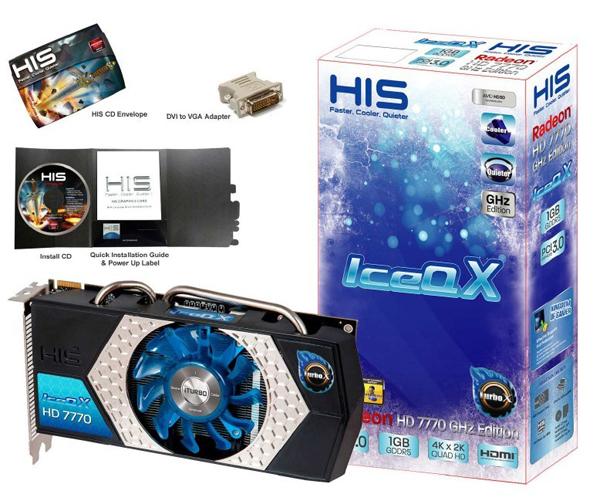 HIS Radeon HD 7770 IceQ X iTurbo X 0