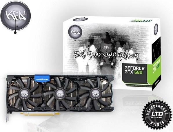 KFA2 GeForce GTX 680 Hall of Fame 1 0