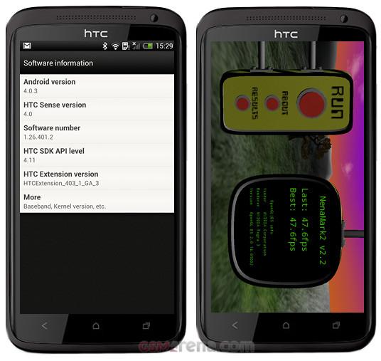 LG Optimus 4X HD vs HTC One X 4 3