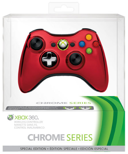 Mando Xbox 360 Chrome Series 1 0