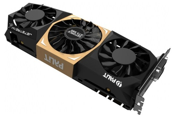 Palit GeForce GTX 680 JetStream Edition 4 GB 3 2