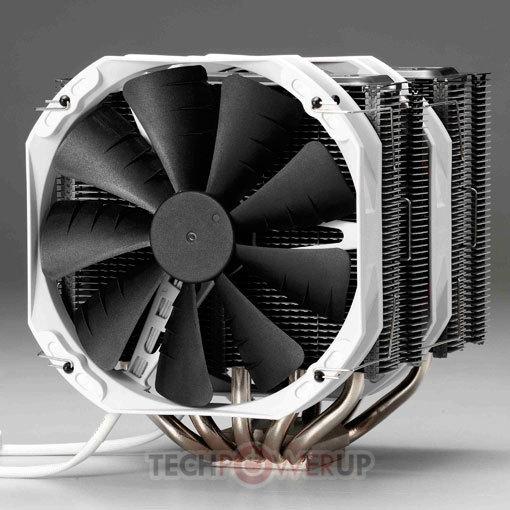Phanteks presenta el disipador CPU TC14PE en color negro