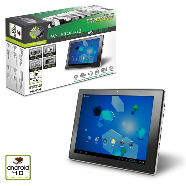 Point of View lanza la tablet IPS ProTab 2 con Android 4.0