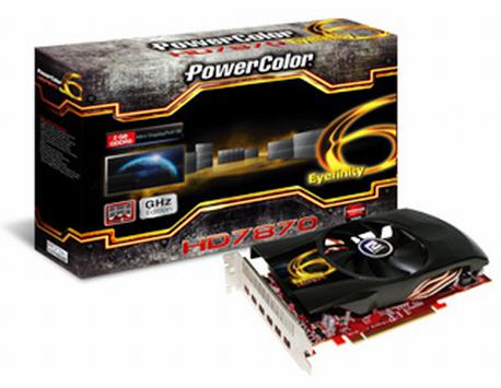 PowerColor HD7870 Eyefinity 6 1 0