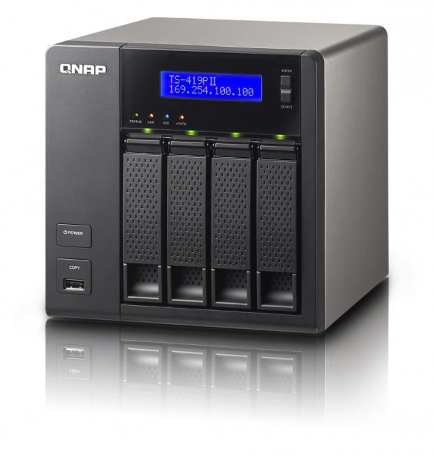 QNAP TurboNAS TS 419 PII 620x653 1