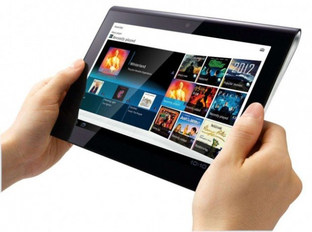 "sony tablet s 620x461 El tablet Sony S se actualiza a ""Ice Cream Sandwich"""