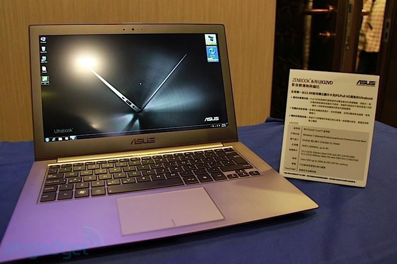 Asus muestra el Ultrabook Zenbook UX32VD