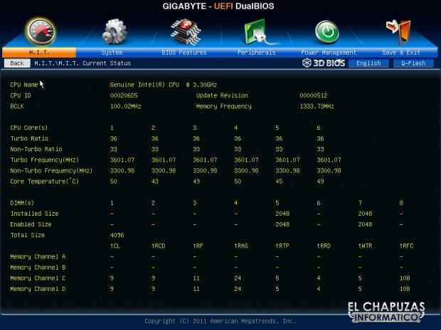 lchapuzasinformatico.com wp content uploads 2012 05 Bios Gigabyte X79 UD5 11 620x465 17