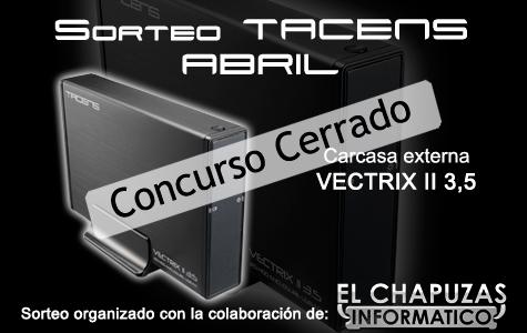 Concurso Tacens cerrado 1er Aniversario: Ganadores del concurso Tacens y Aerocool