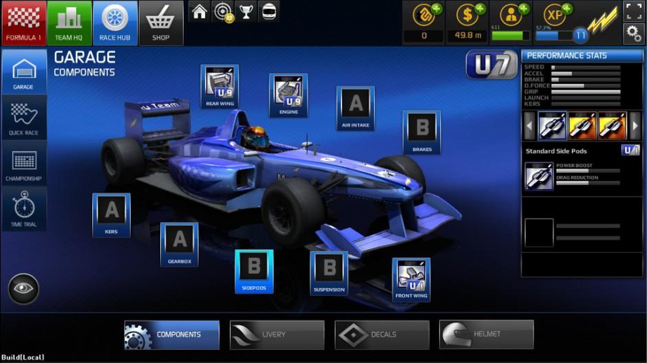 Nuevas imágenes del F1 Online: The Game